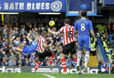 Torres mid-flight