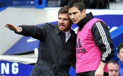AVB talks to Lampard